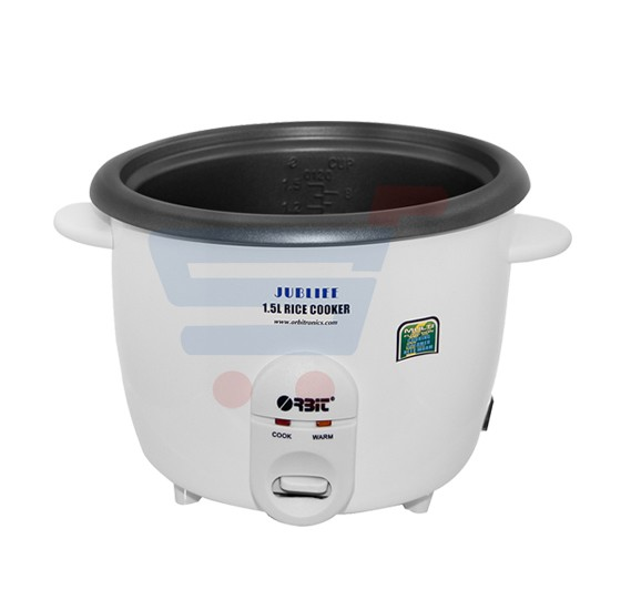 Orbit 1.5Litre Rice Cooker-JUBLIEE